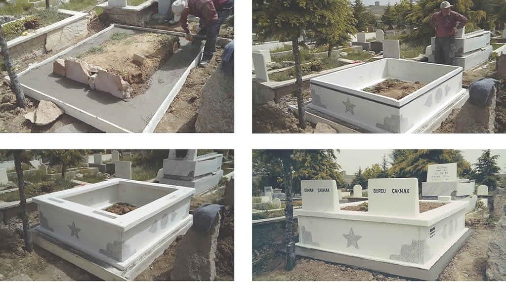Baştan Sona Mezar Kurulumu – Mezarcı ismail Mezar Kurulum