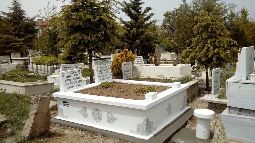 Eşli Mezar – Çiftli Mezar Yapımı – Ankara Çiftli Mezar