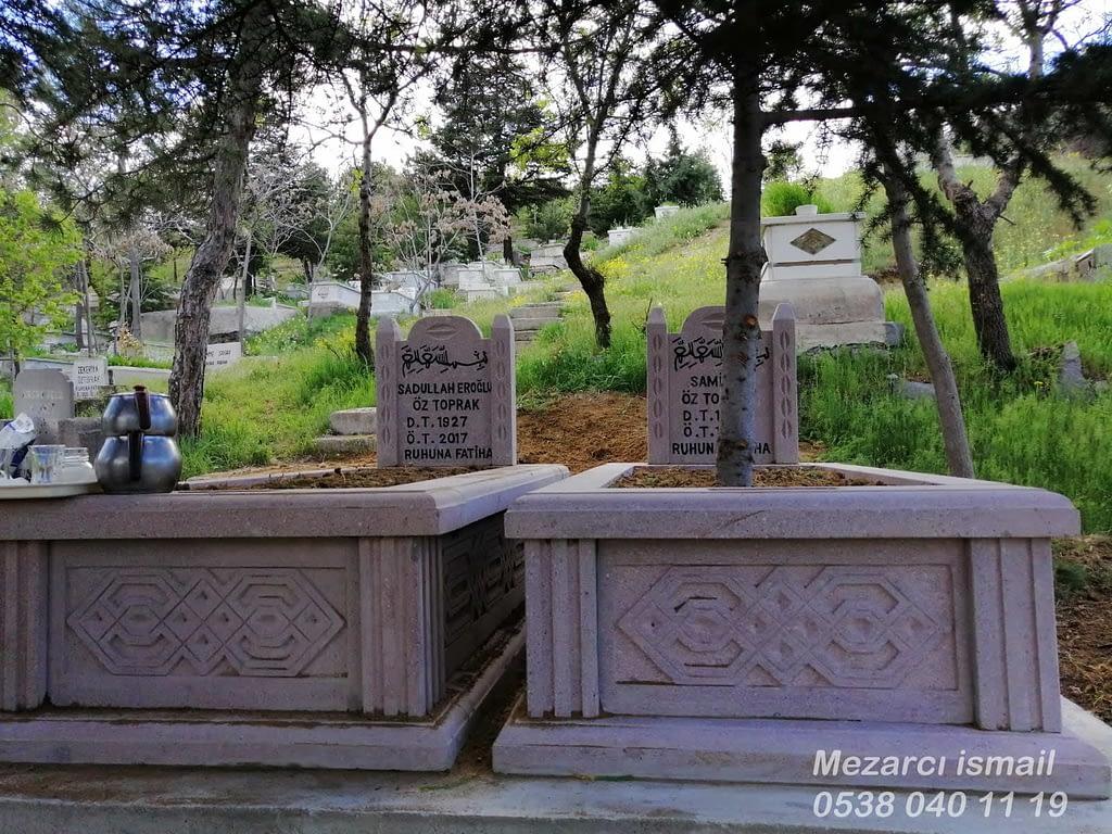 Andezit Mezar – Hazır Mezar – Mezarcı ismail