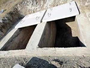 Ankara Hazır Kabir Yapımı - Hazır Yeraltı Mezar - Kapaklı Beton Mezar